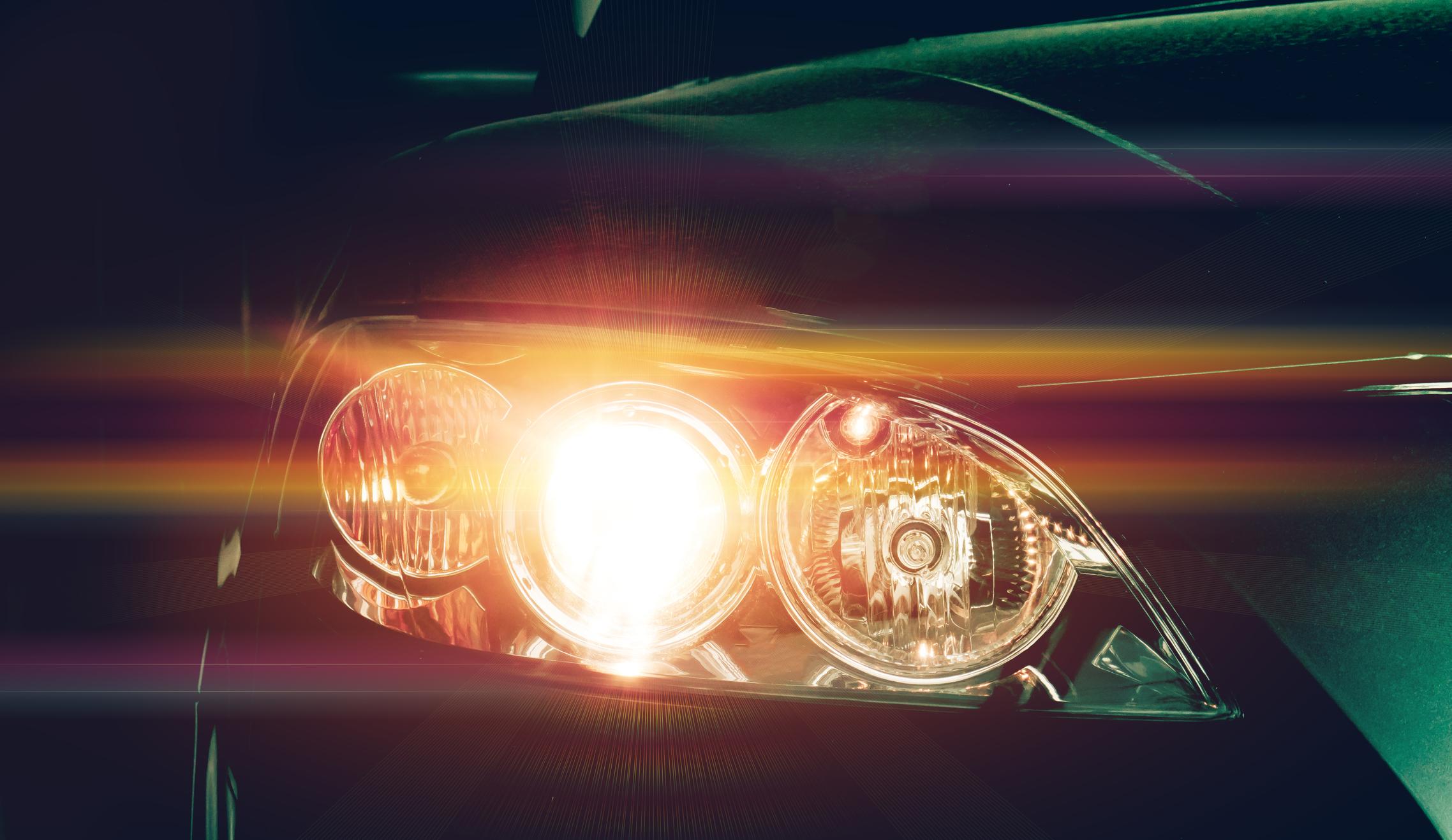 Bilens lysen